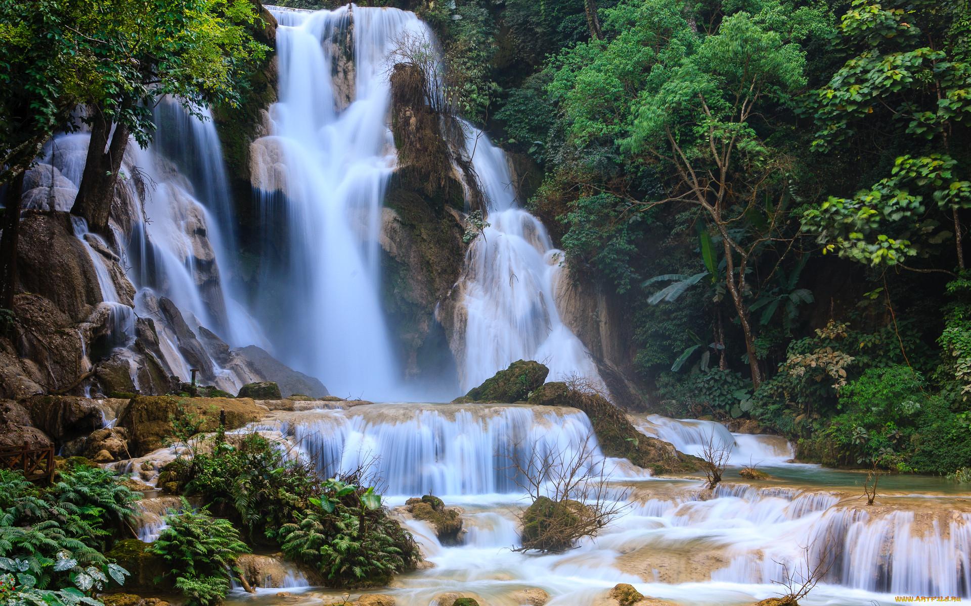 Картинки природы с водопадом